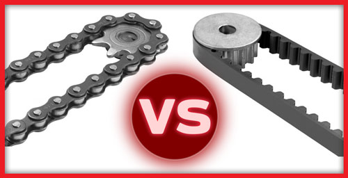 belt drive garage door openers vs chain drive which is
