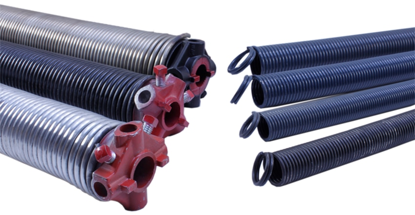 Torsion and Extension Springs for your Garage Door