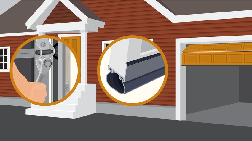 Animation of Garage Door