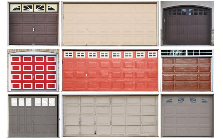 Different Garage Door Styles