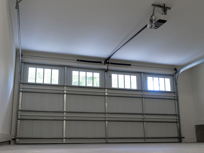 Double Spring Garage Doors