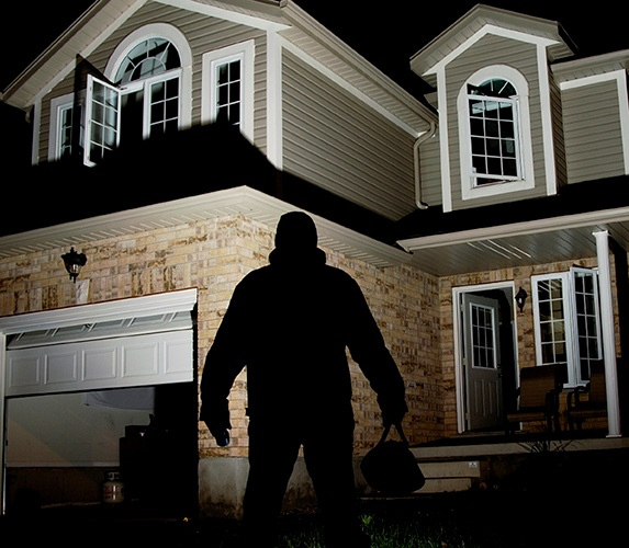 Garage door thefts