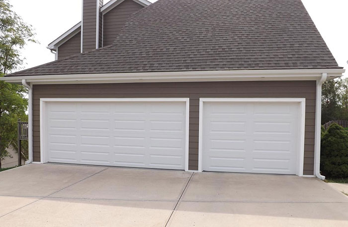 Remodeled Garage Door