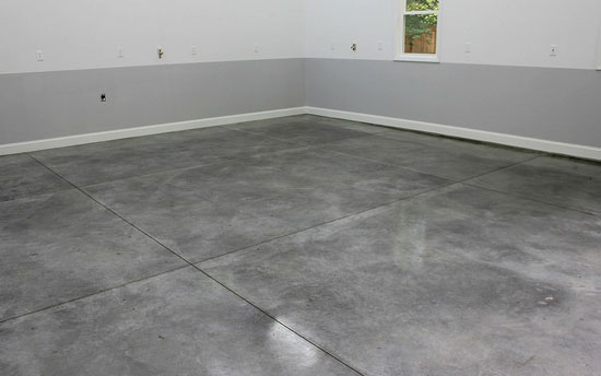 Seal A Garage Floor Picking The Best Type And Sealing It